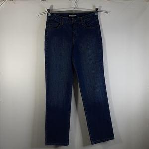 Bandolino blu Women's Blue Jeans 6 Madie